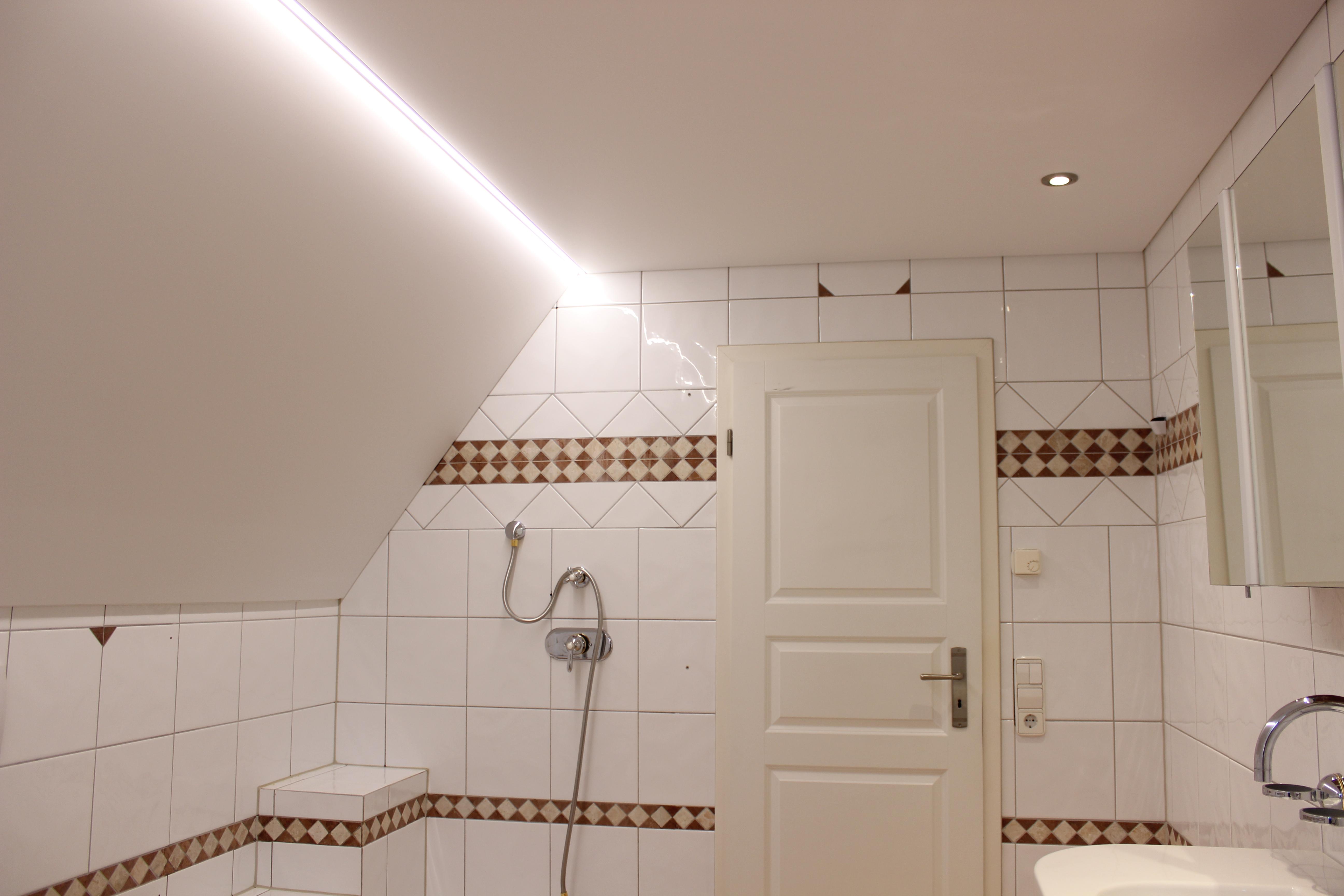 Spanndeckenstudio Teller - Dachschräge - Erlenbach