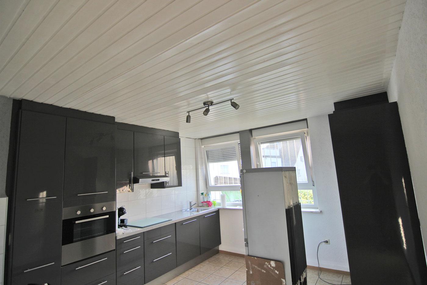 spanndecke in der k che freudental spanndeckenstudio teller in talheim bei heilbronn. Black Bedroom Furniture Sets. Home Design Ideas