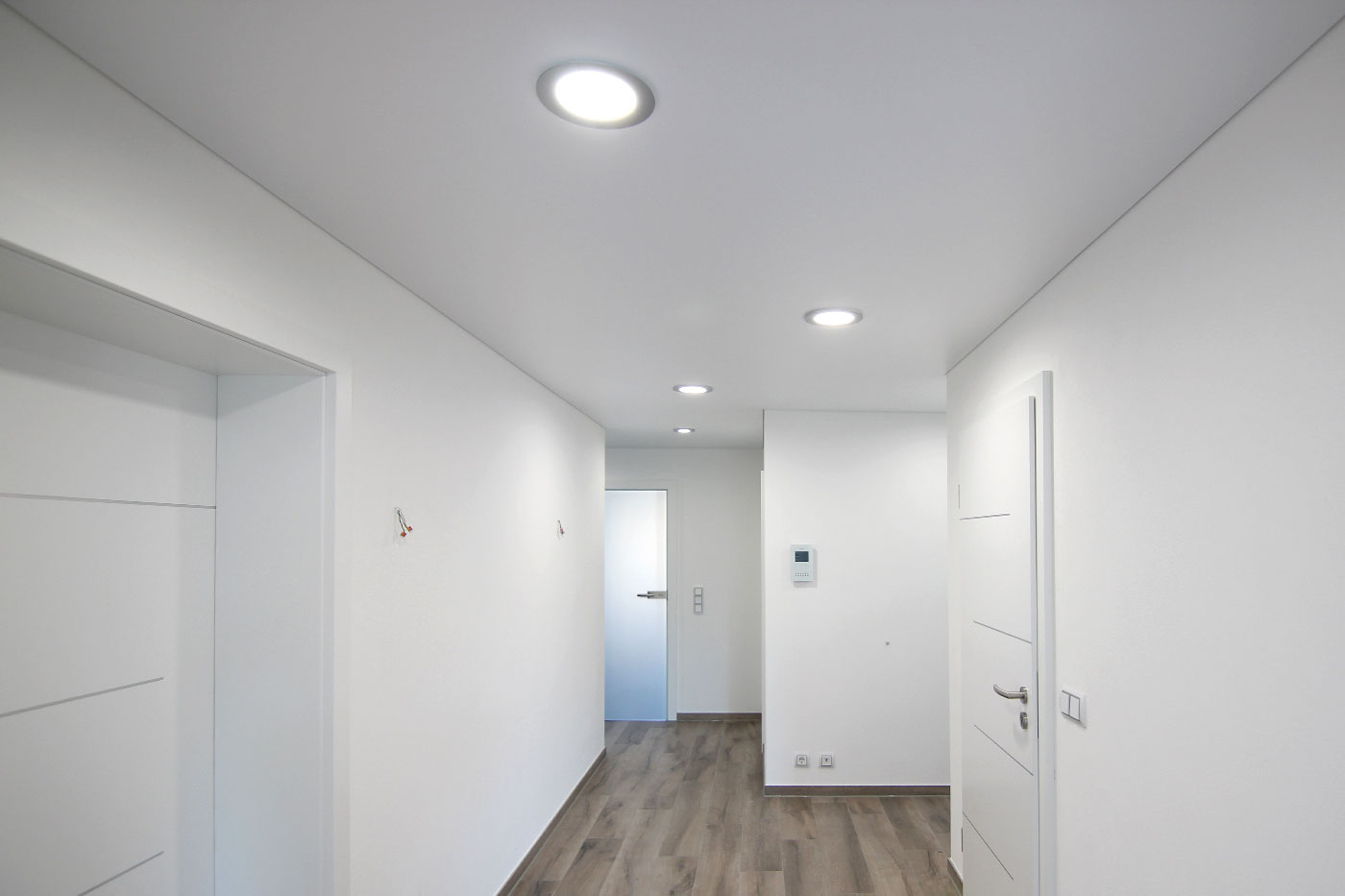 Spanndeckenstudio Teller - Beleuchtung - LED-Glaspanels