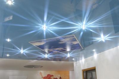 Spanndeckenstudio Teller - Beleuchtung - Sternenhimmel