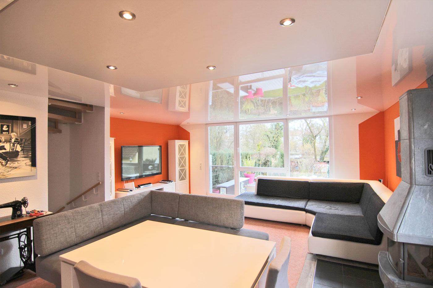 Spanndeckenstudio Teller - Referenzen - Wohnzimmer 001