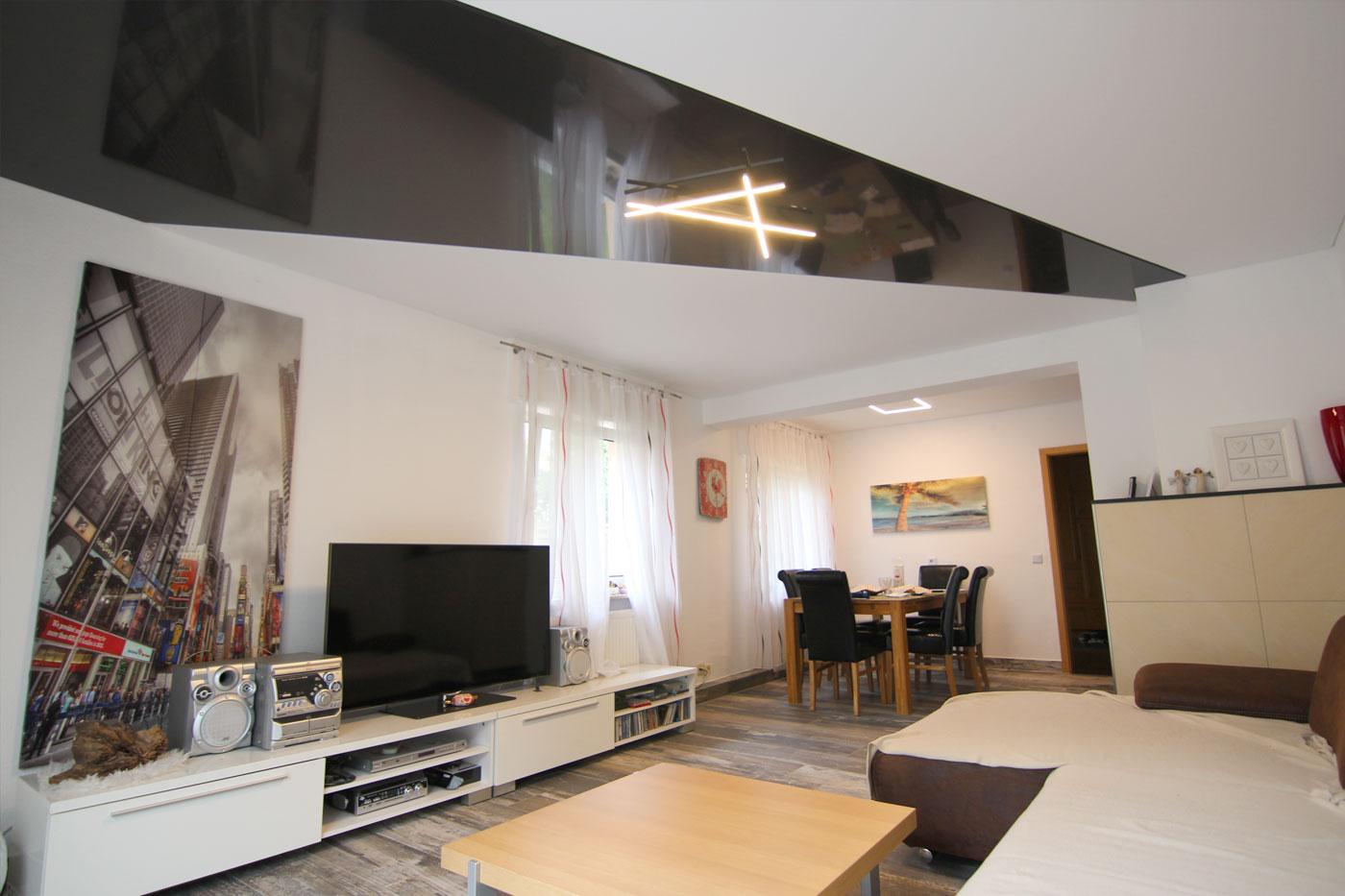 Spanndeckenstudio Teller - Referenzen - Wohnzimmer 005