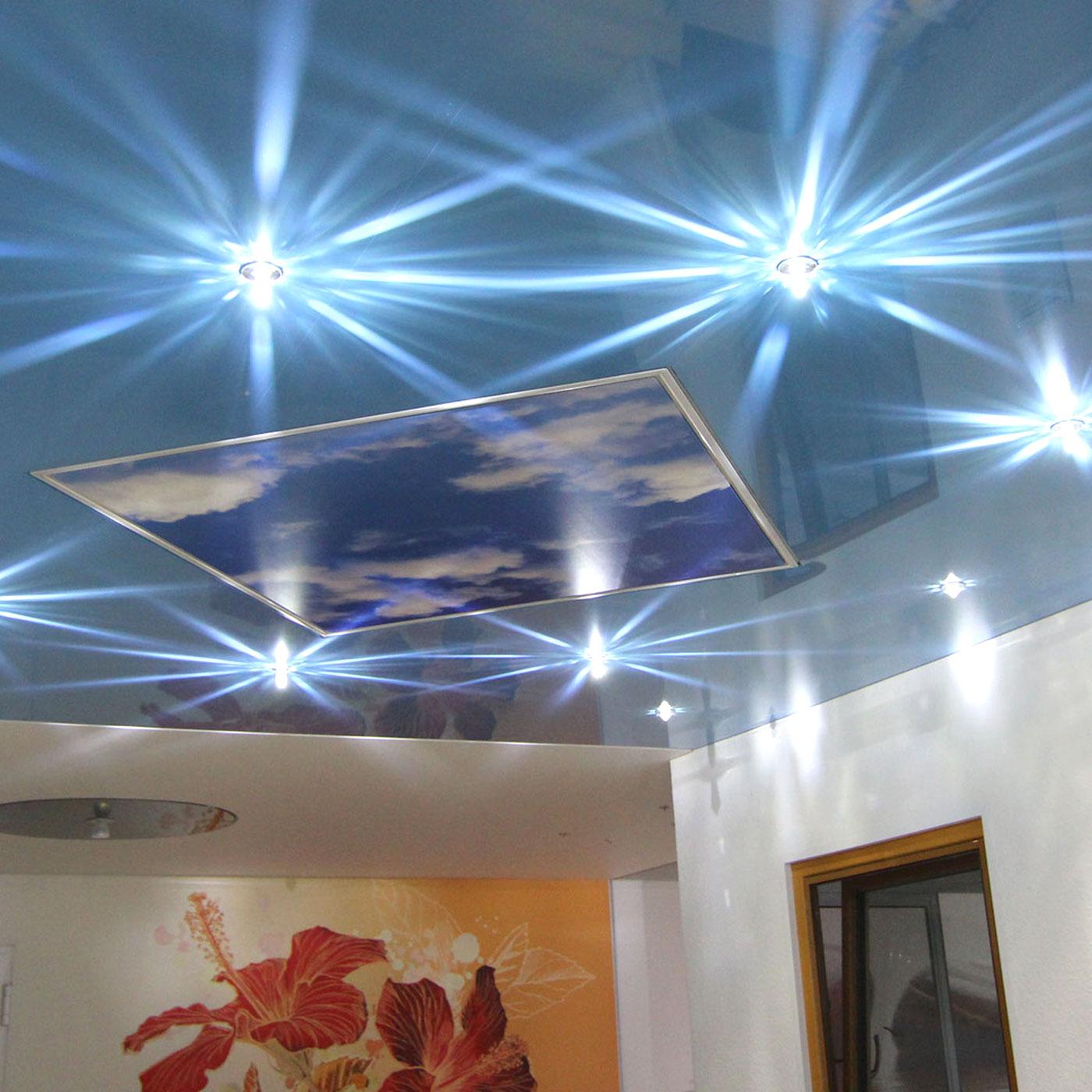Spanndeckenstudio Teller - Beleuchtung
