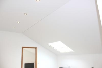 Spanndeckenstudio Teller - Dachschräge