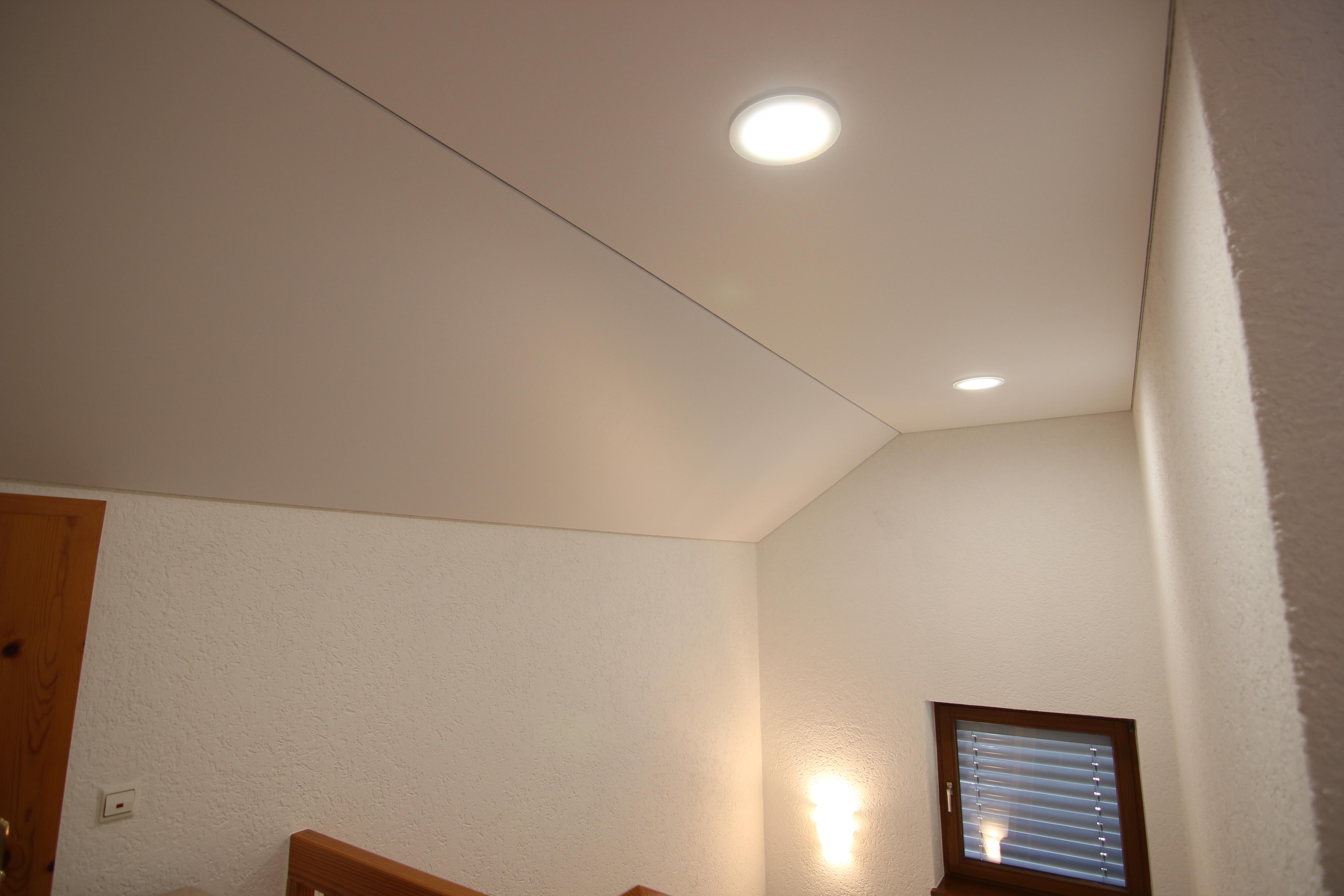 Spanndeckenstudio Teller - Dachschräge - Offenau