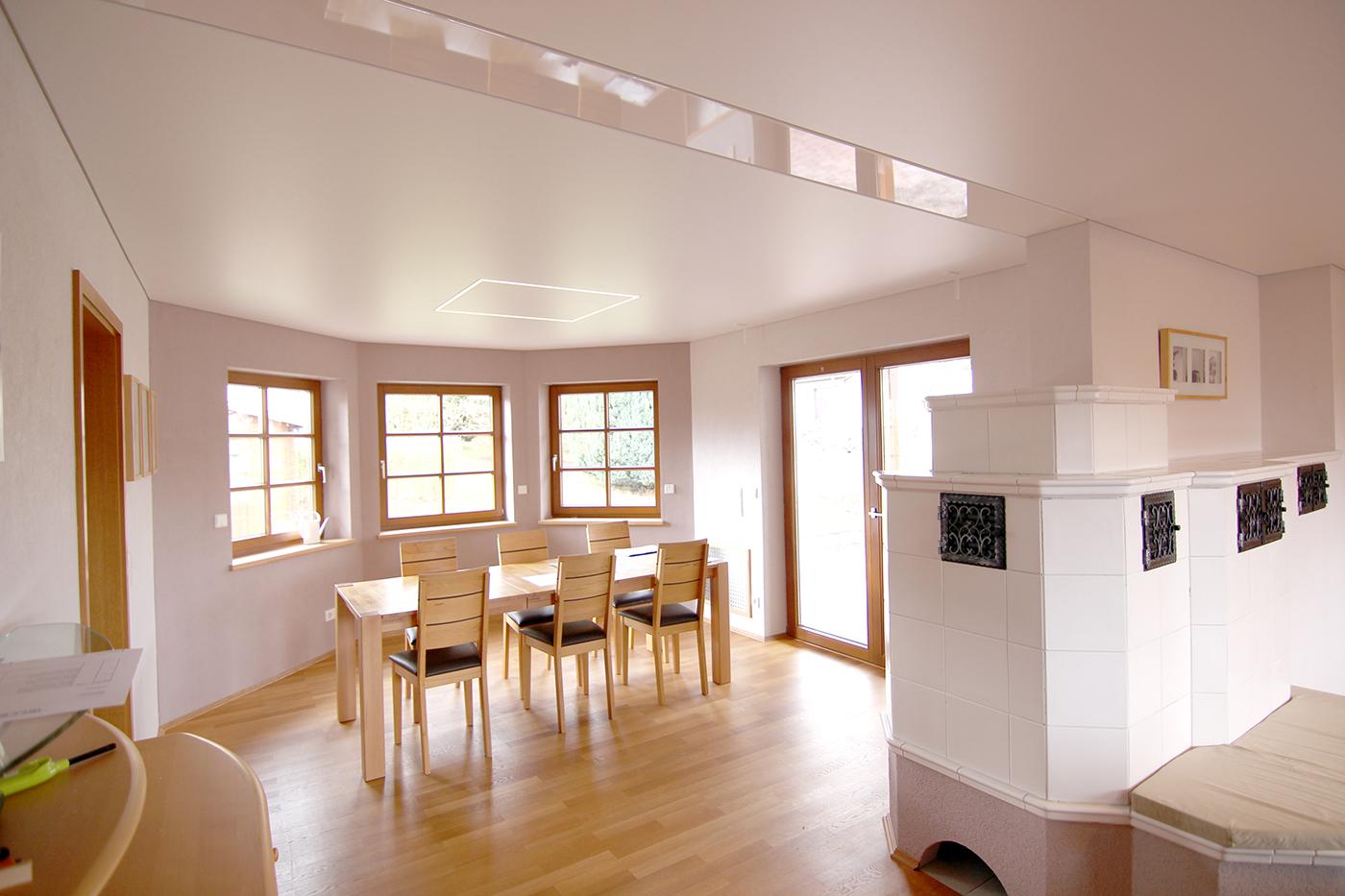 Spanndeckenstudio Teller - Wohnzimmer / Esszimmer